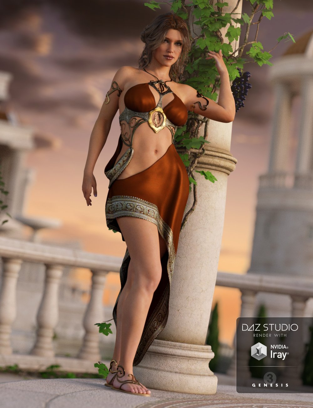 Divinity Outfit for Genesis 3 Female(s) by: NikisatezShox-Design, 3D Models by Daz 3D
