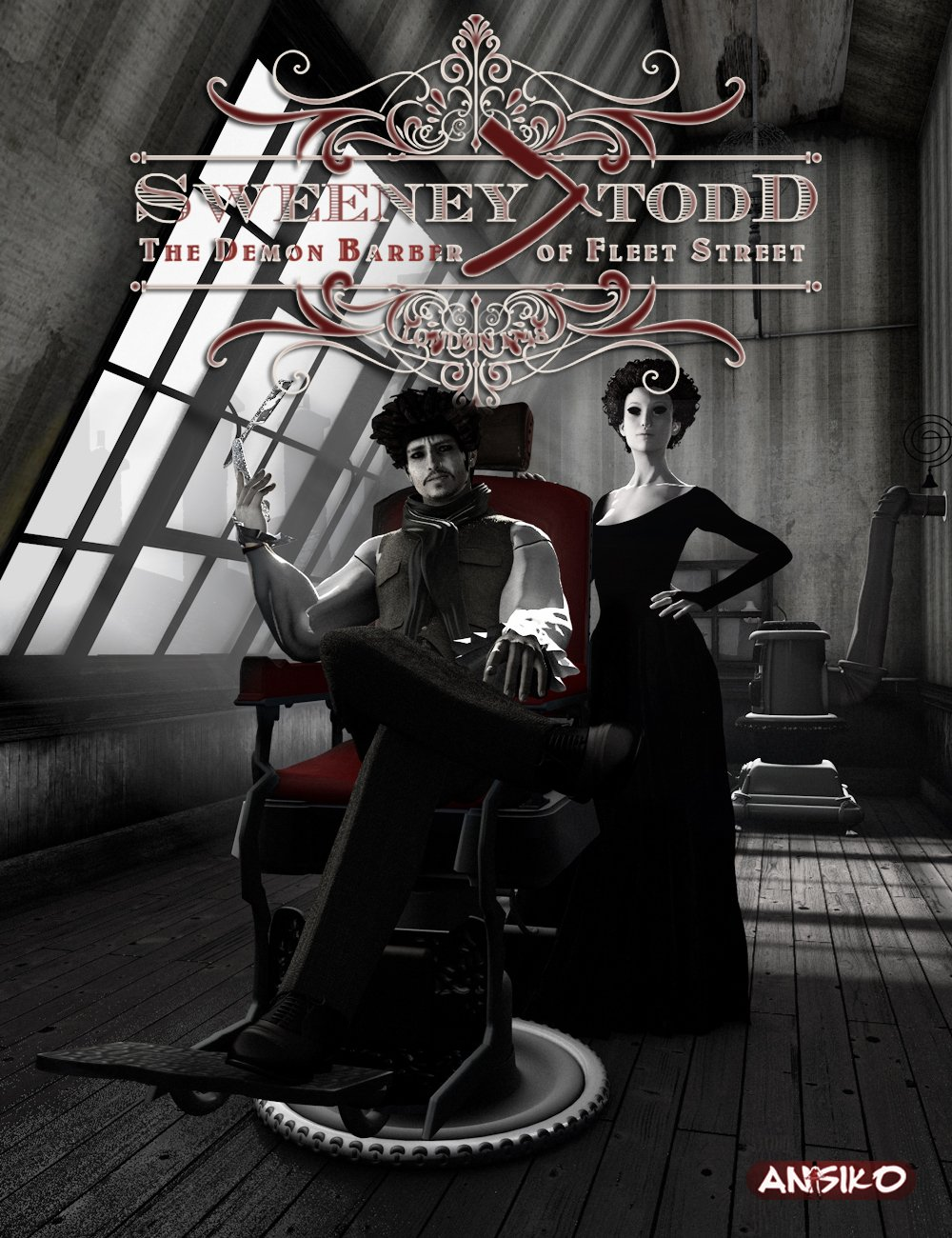 Sweeney Todd: The Demon Barber of Fleet Street by: Ansiko, 3D Models by Daz 3D