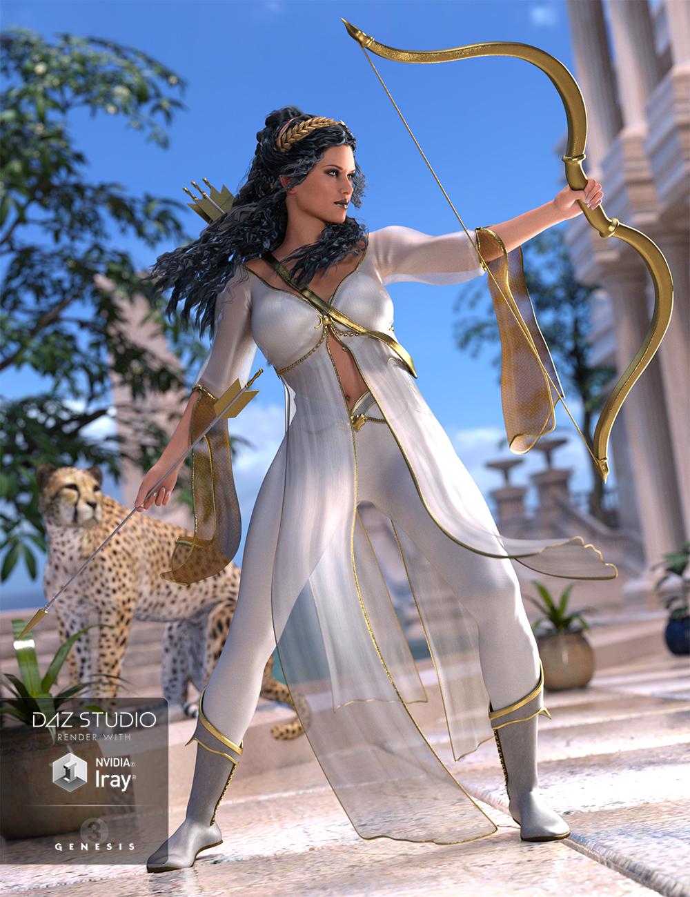 Artemis Moon for Genesis 3 Female(s) by: Ravenhair, 3D Models by Daz 3D