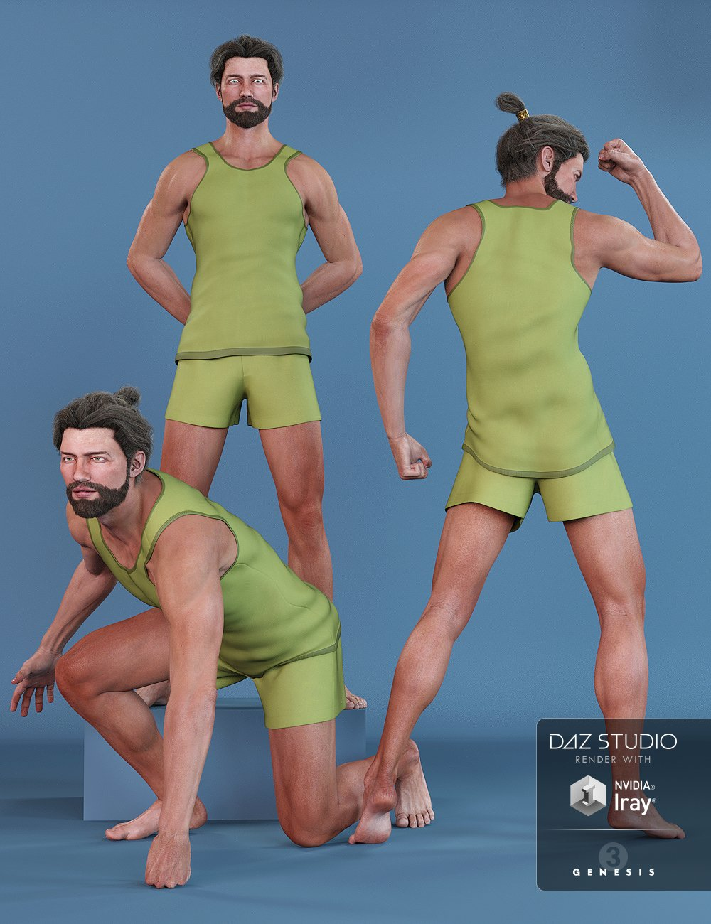 DA Flex Poses for Leo 7 by: Design Anvil, 3D Models by Daz 3D