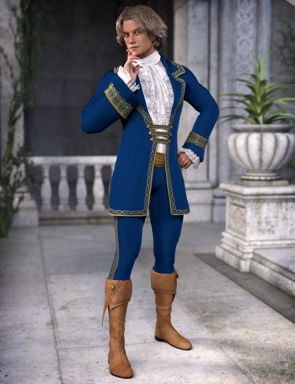 Fairytale Prince for Genesis 3 Male(s) by: esha, 3D Models by Daz 3D