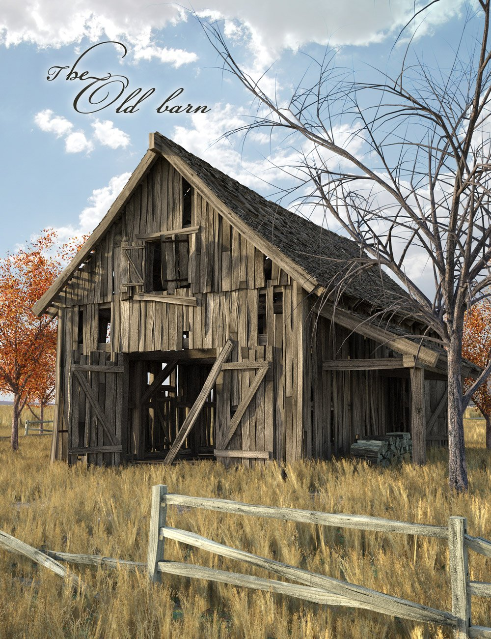 The Old Barn by: Age of Armour, 3D Models by Daz 3D