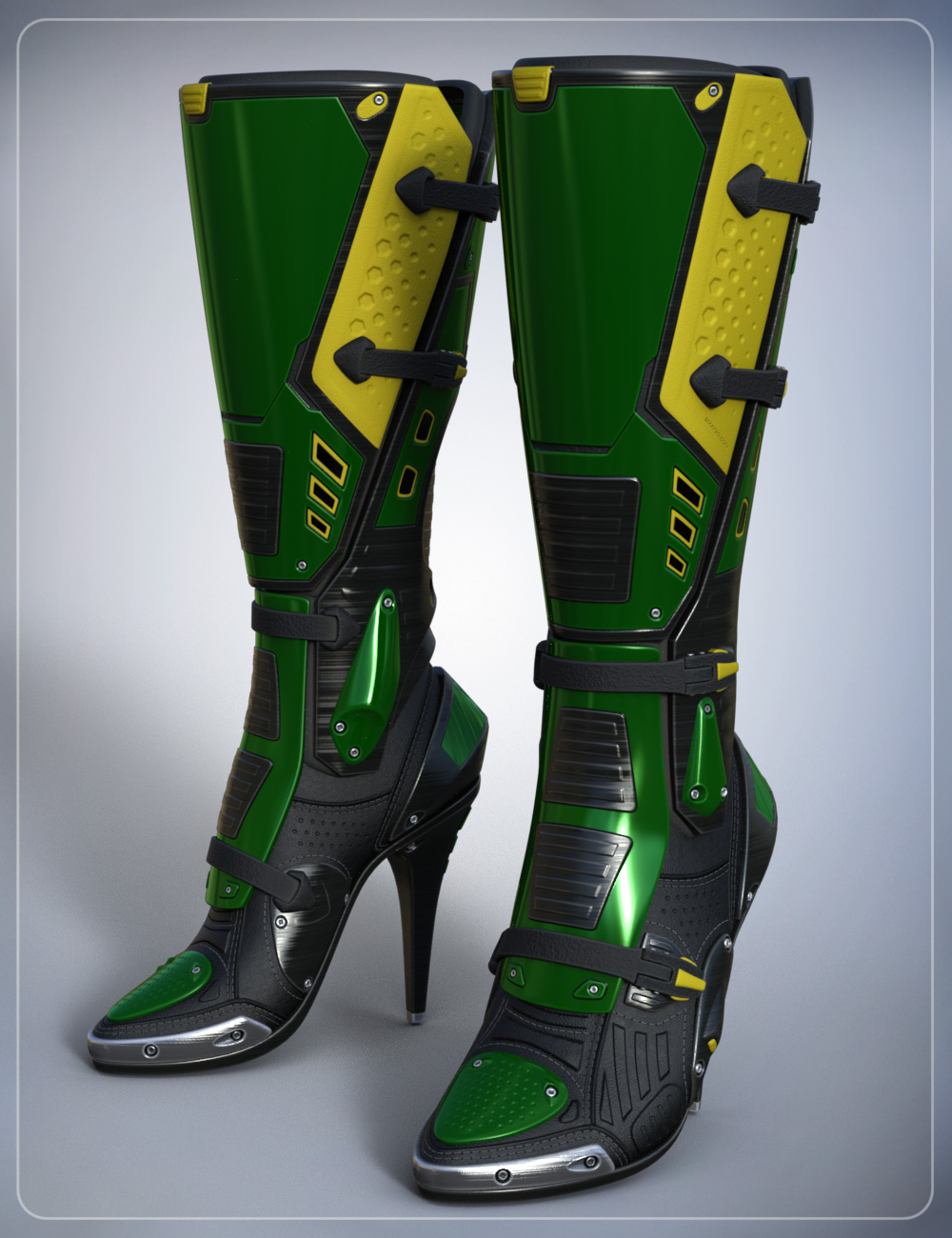 Sci Fi Boots for Genesis 3 Female(s) by: smay, 3D Models by Daz 3D