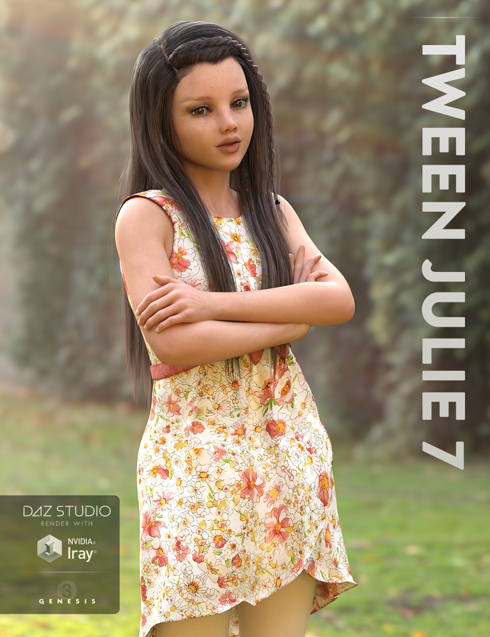 Tween Julie 7 by: , 3D Models by Daz 3D