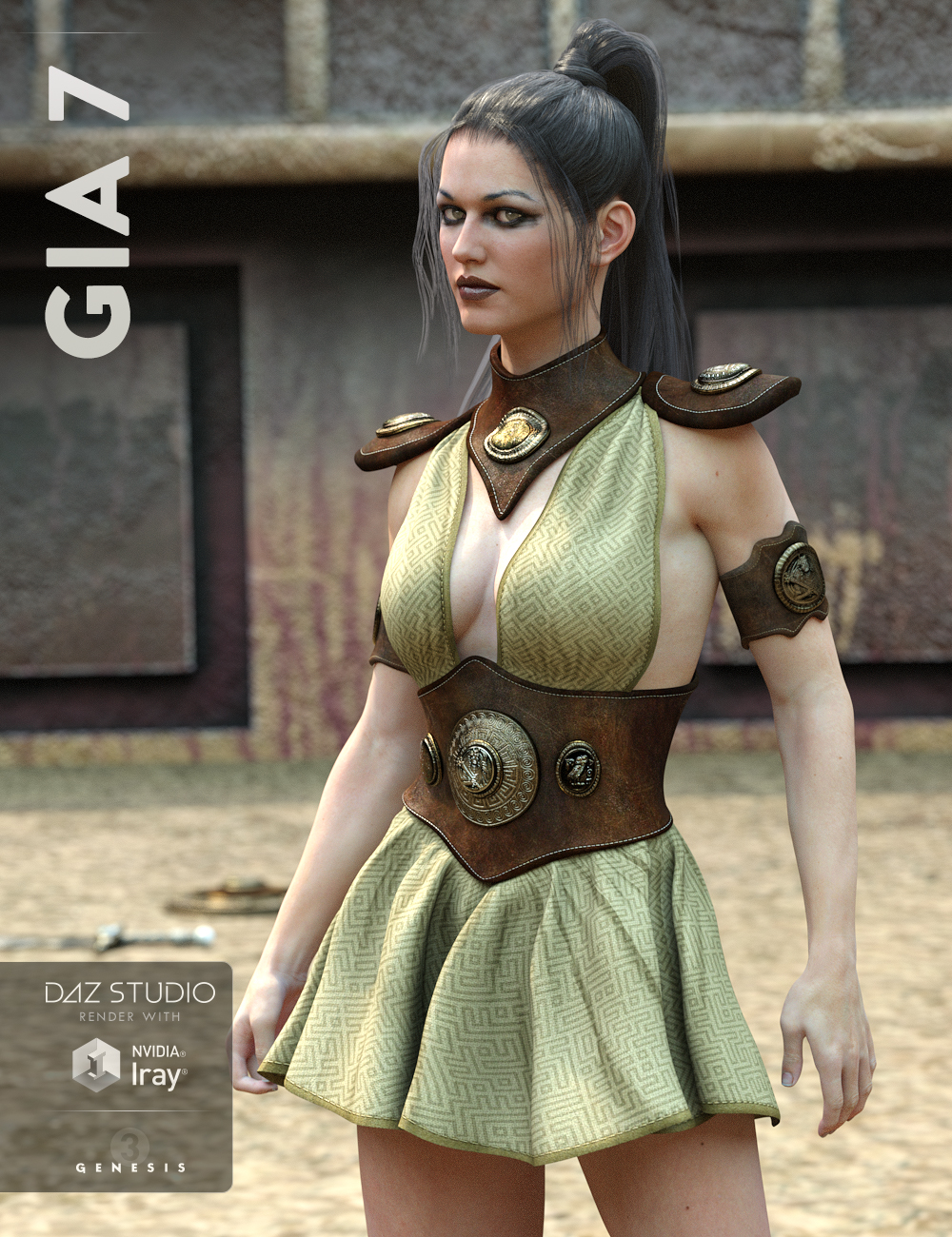 Gia 7 by: , 3D Models by Daz 3D