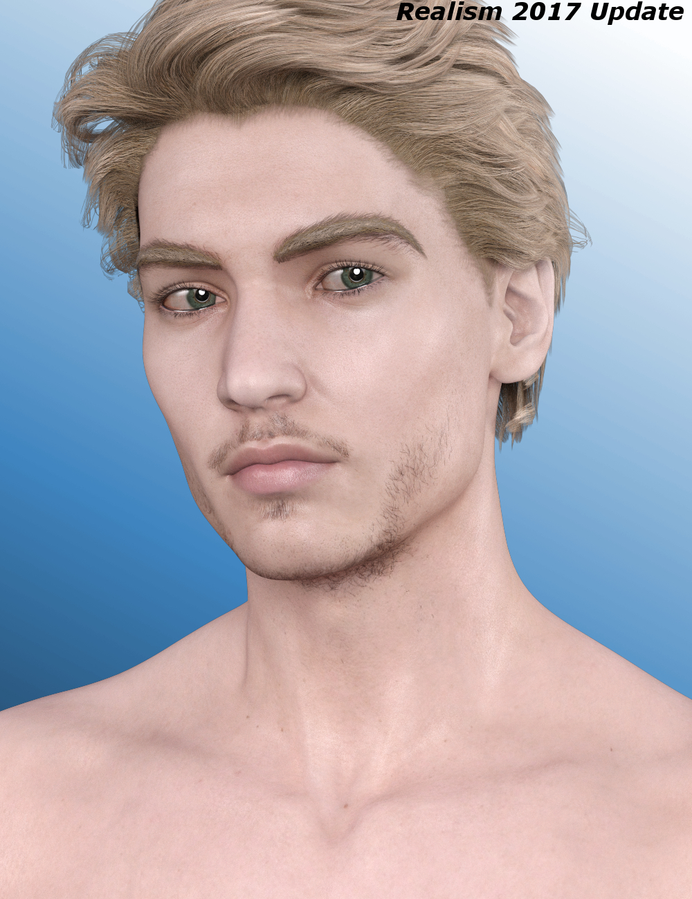 Beautiful Skin Iray Genesis 3 Male(s) by: SickleyieldFuseling, 3D Models by Daz 3D