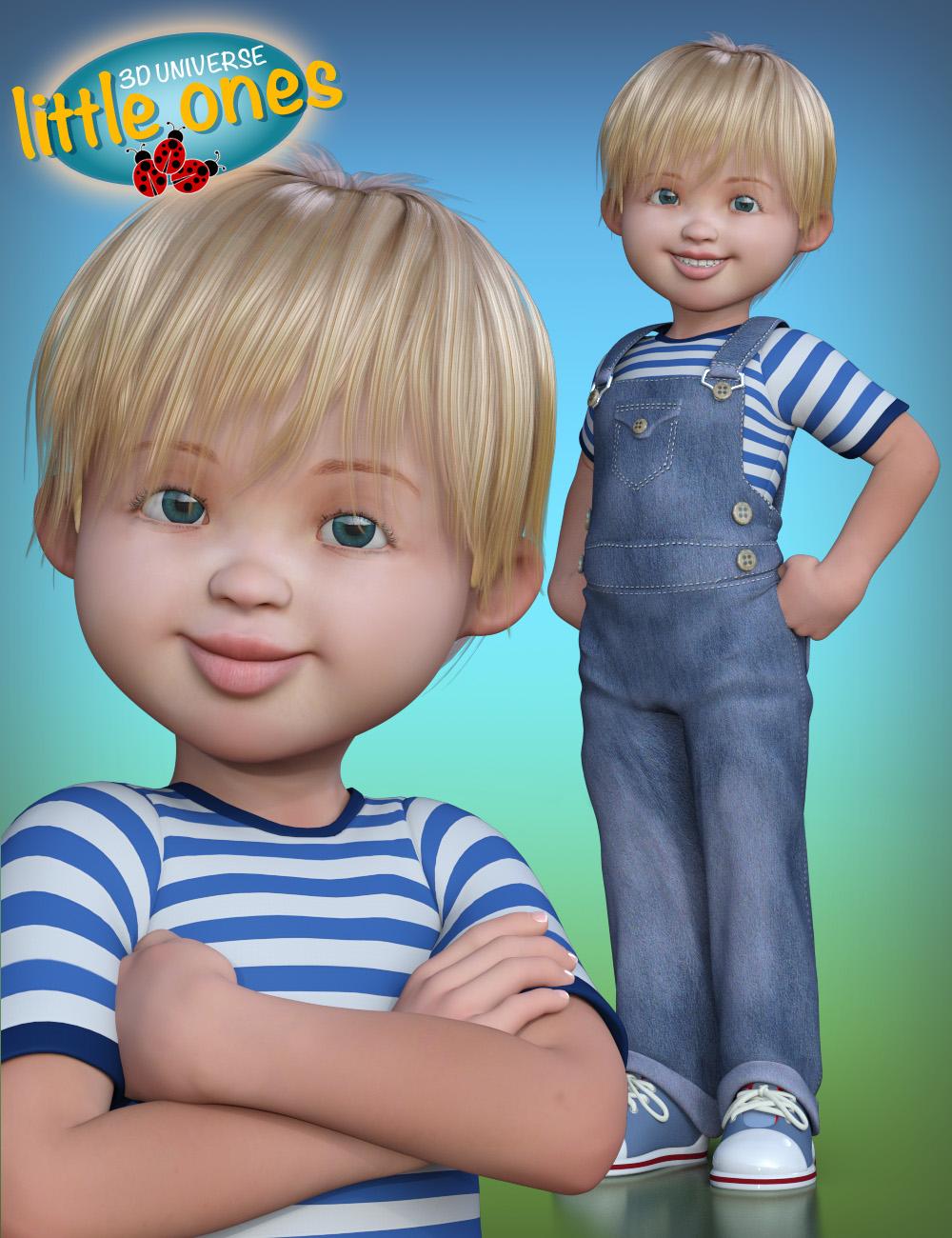 Little Ones (Caucasian Male) for Genesis 3 Male by: 3D Universe, 3D Models by Daz 3D