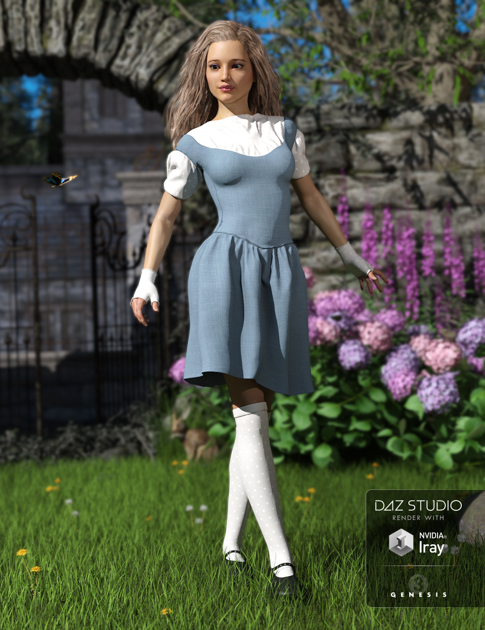 Lucid Dream for Genesis 3 Female(s) by: Sarsa, 3D Models by Daz 3D