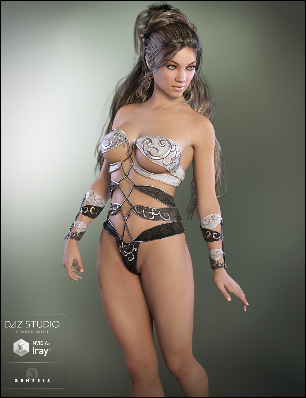 Nathalie for Olympia 7 by: DemonicaEviliusJessaii, 3D Models by Daz 3D