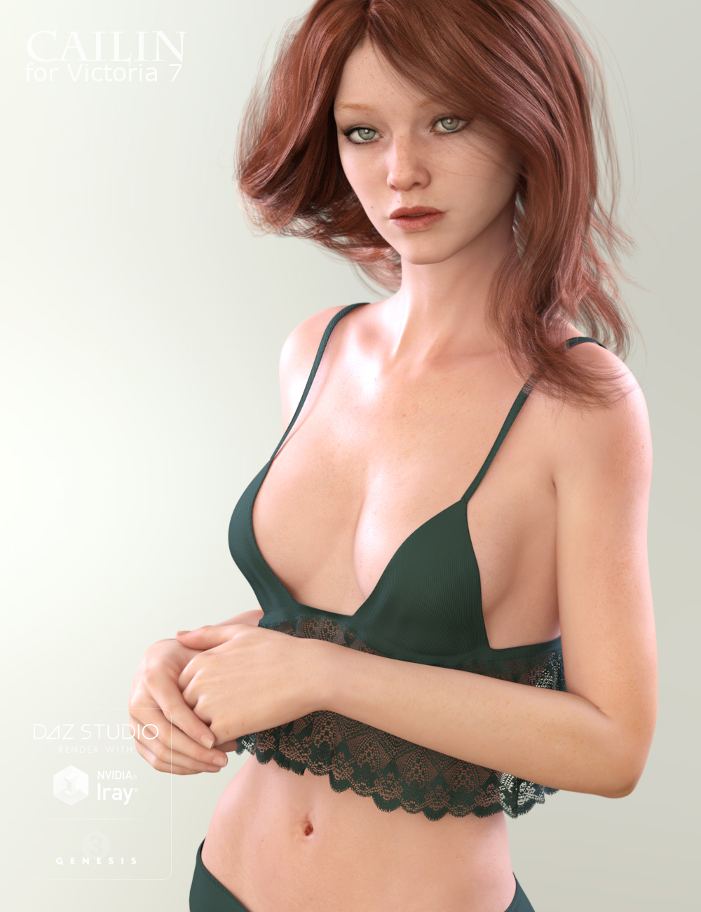 Cailin for Victoria 7 by: Raiya, 3D Models by Daz 3D
