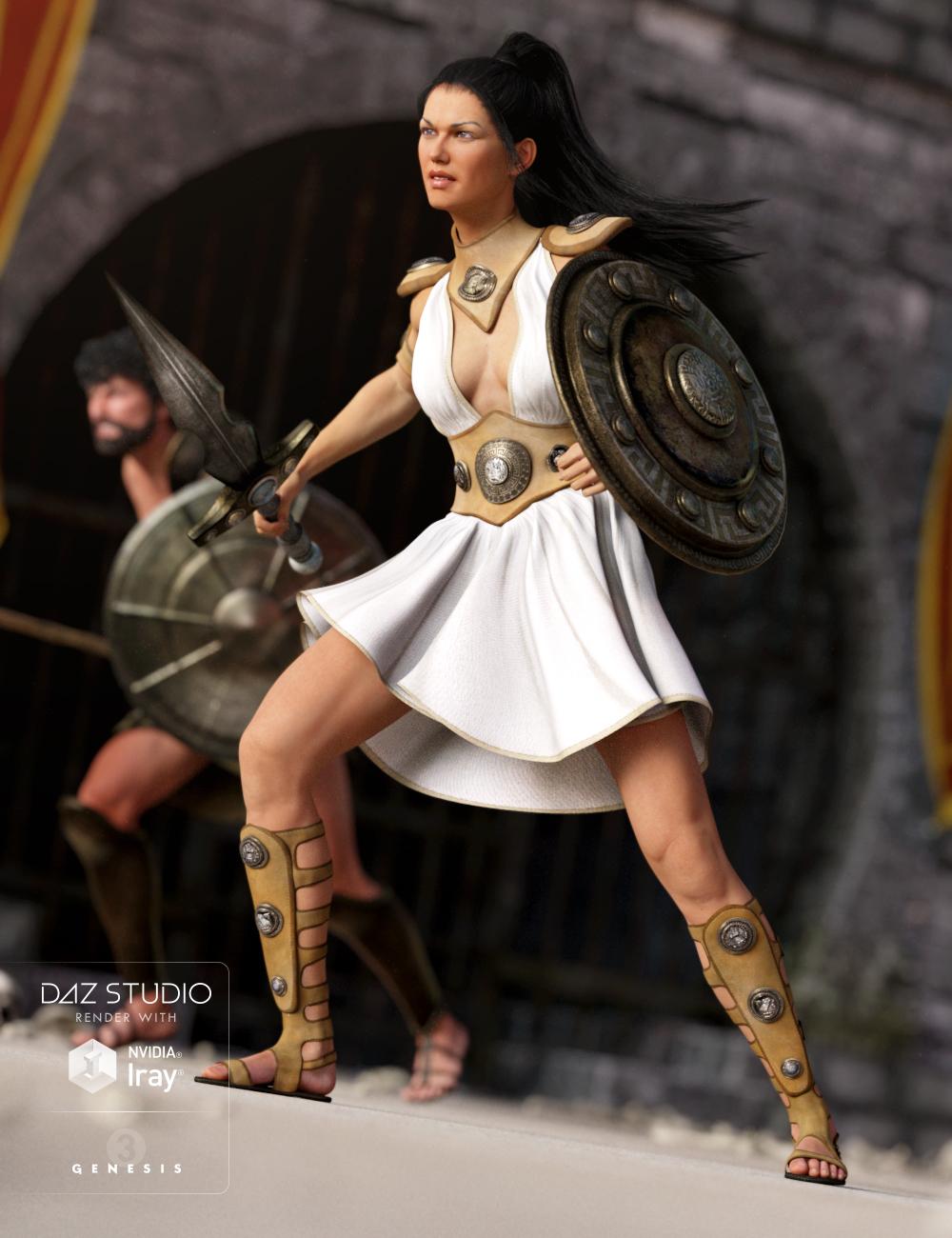 Gladiator Goddess for Genesis 3 Female(s) by: NikisatezSarsa, 3D Models by Daz 3D