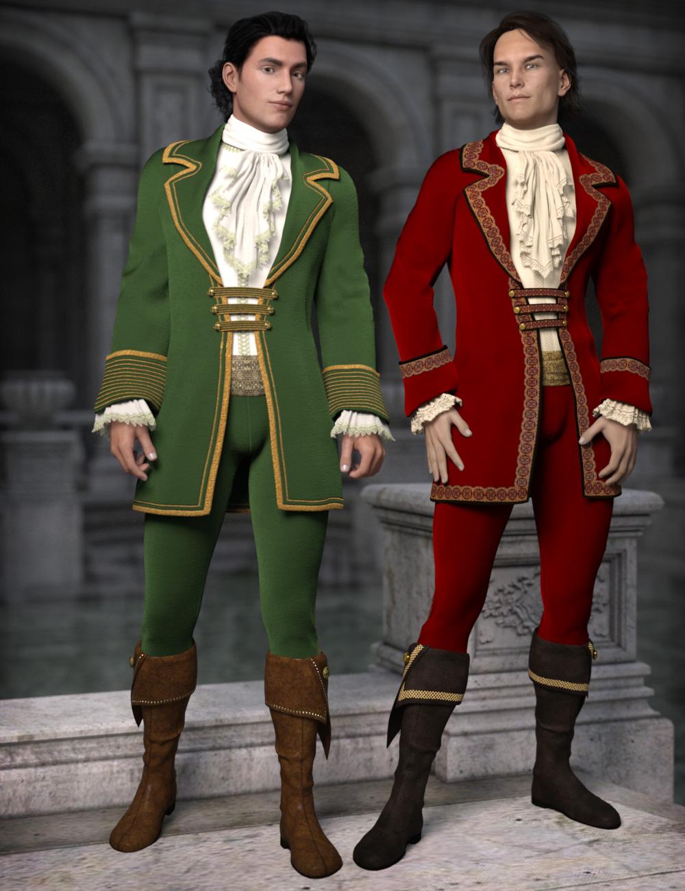 Splendor for Fairytale Prince by: esha, 3D Models by Daz 3D
