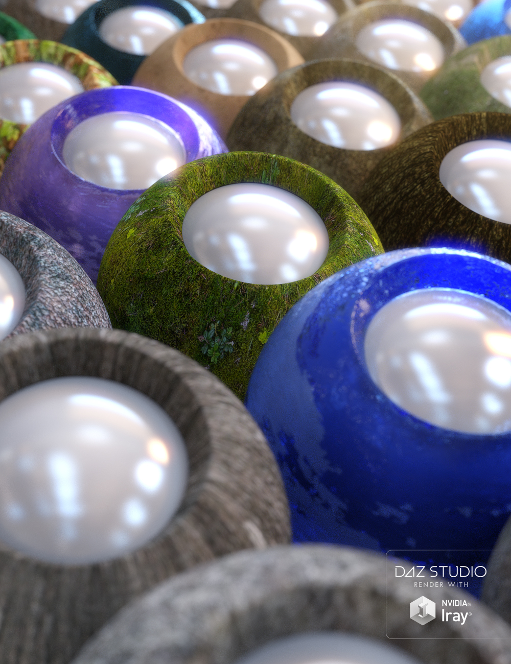 Nature Shaders by: JGreenlees, 3D Models by Daz 3D