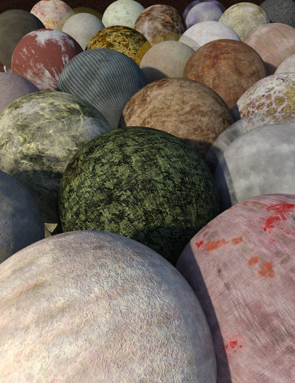 FSL Filthy Dirty Iray Shaders by: Fuseling, 3D Models by Daz 3D