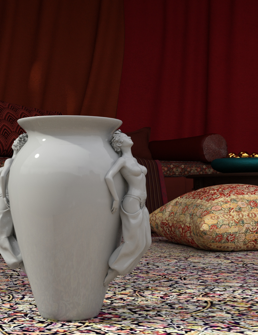 Ceramics for Iray by: Khory, 3D Models by Daz 3D