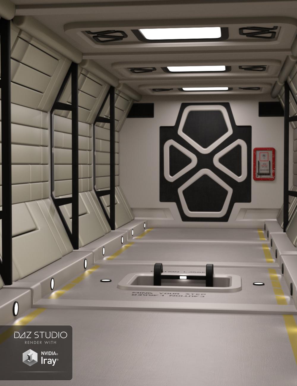 Sci-Fi Passageway by: Moonscape Graphics, 3D Models by Daz 3D