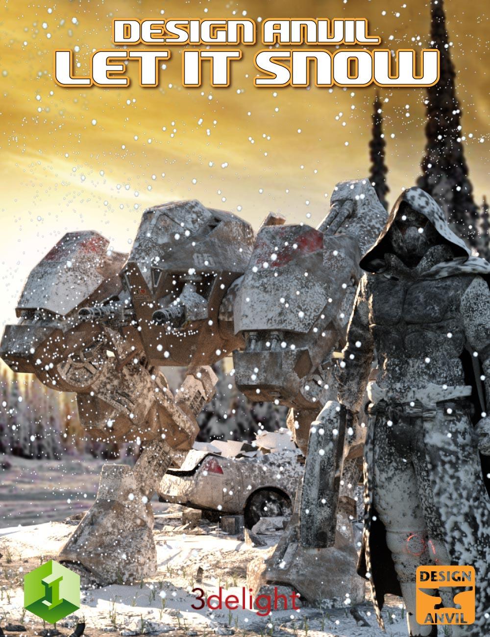 DA Let it Snow by: Design Anvil, 3D Models by Daz 3D