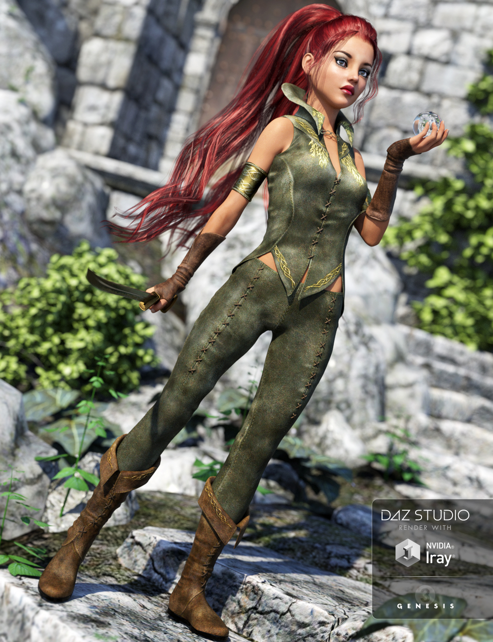 Riverwillow for Genesis 3 Female(s) by: , 3D Models by Daz 3D