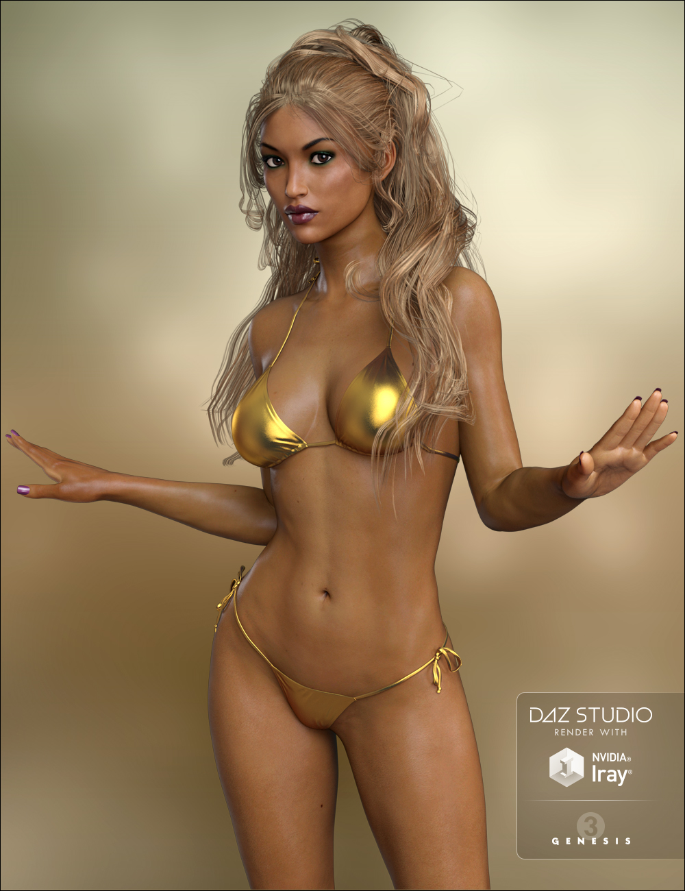 FWSA Taia HD for Victoria 7 by: Fred Winkler ArtSabby, 3D Models by Daz 3D
