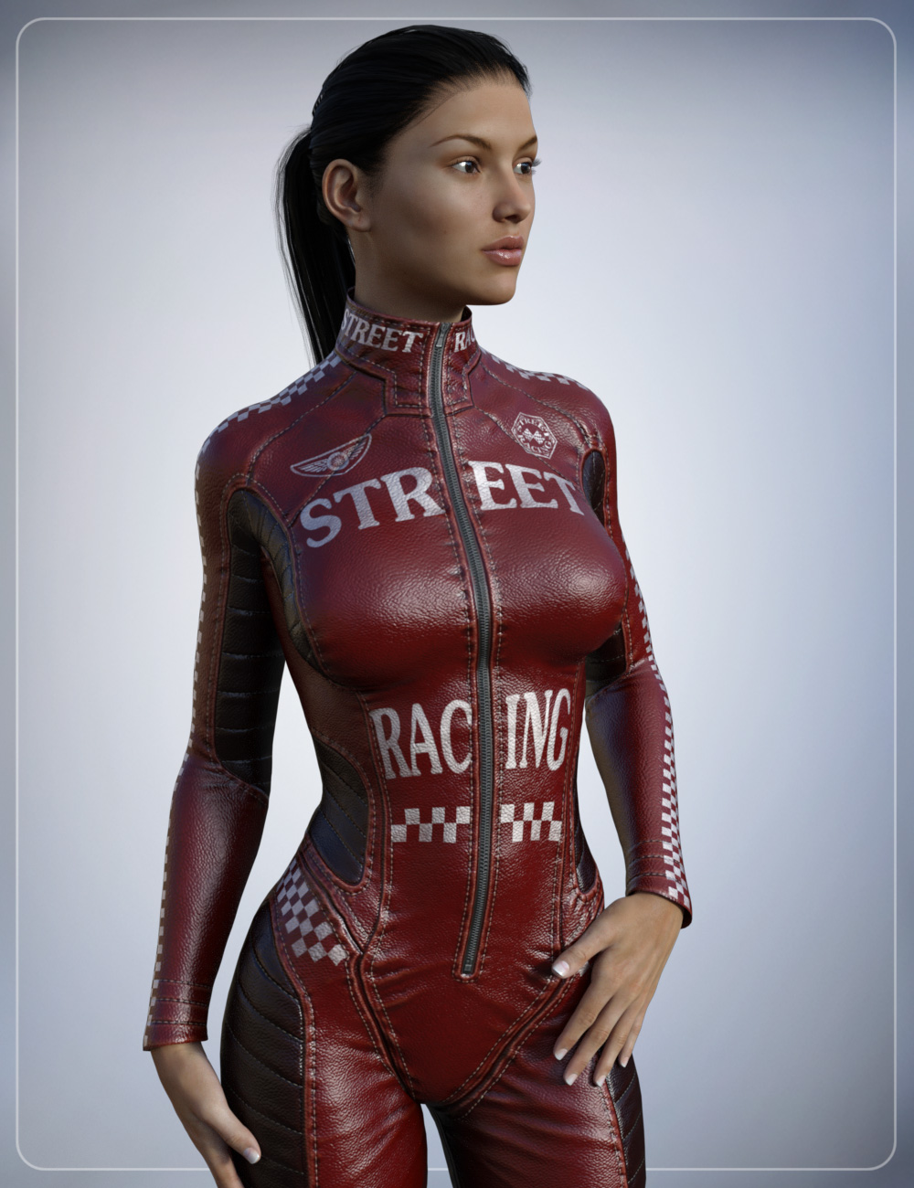 Leather Body Suit Iray Texture Expansion by: smay, 3D Models by Daz 3D