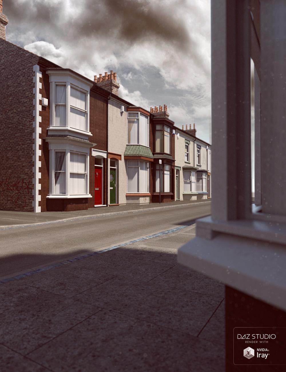 Northern Terrace Street by: David BrinnenForbiddenWhispers, 3D Models by Daz 3D