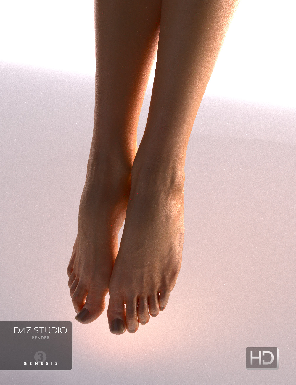 Beauty Fingers and Toes by: chungdan, 3D Models by Daz 3D