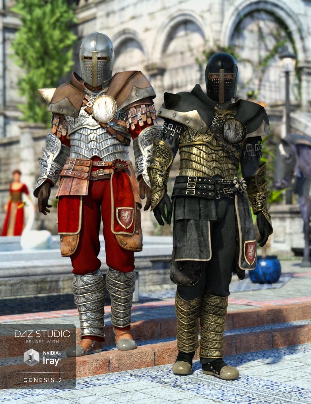 Royal Guard Textures by: Sarsa, 3D Models by Daz 3D
