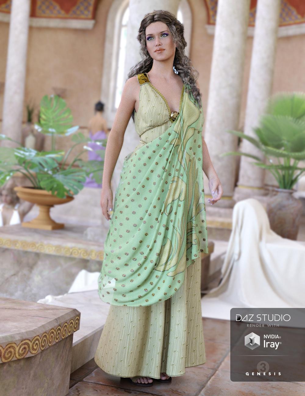 Hellenic for Genesis 3 Female(s) by: Ravenhair, 3D Models by Daz 3D