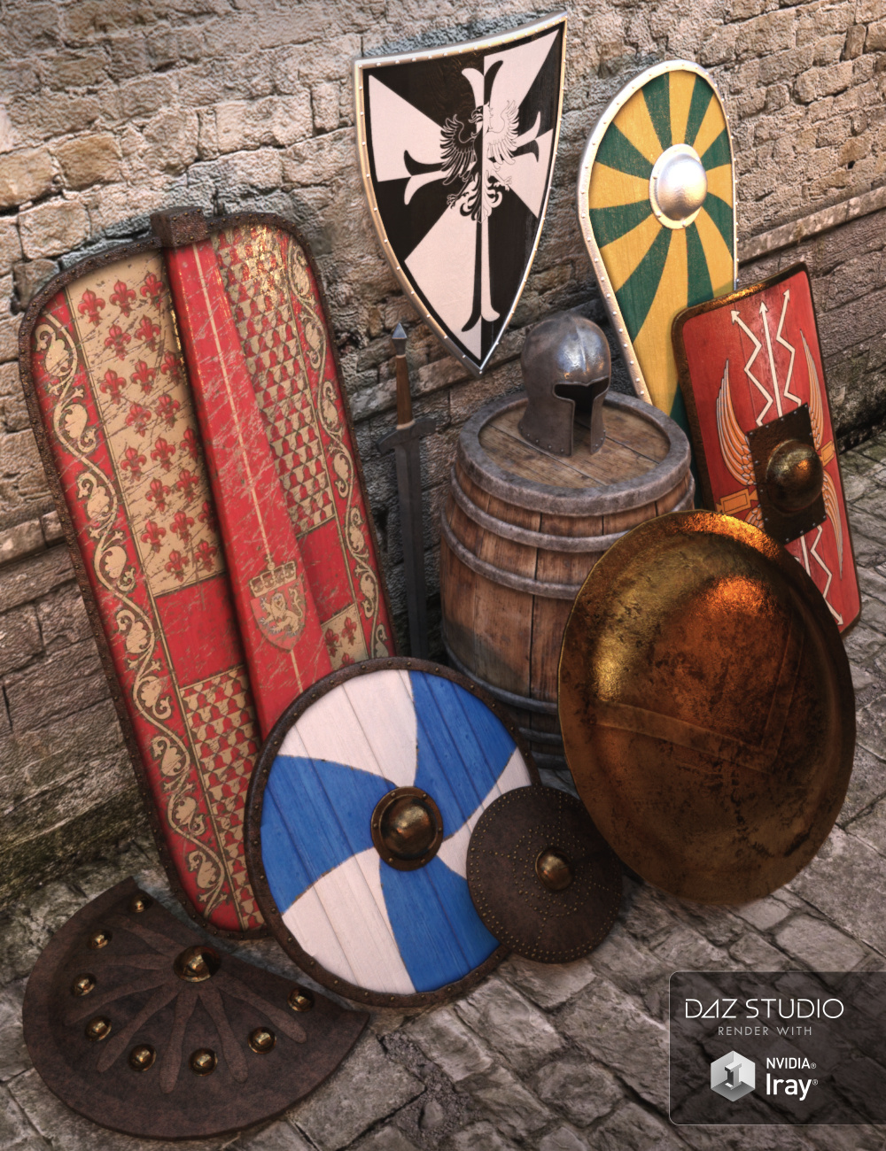 Aegis by: Merlin Studios, 3D Models by Daz 3D
