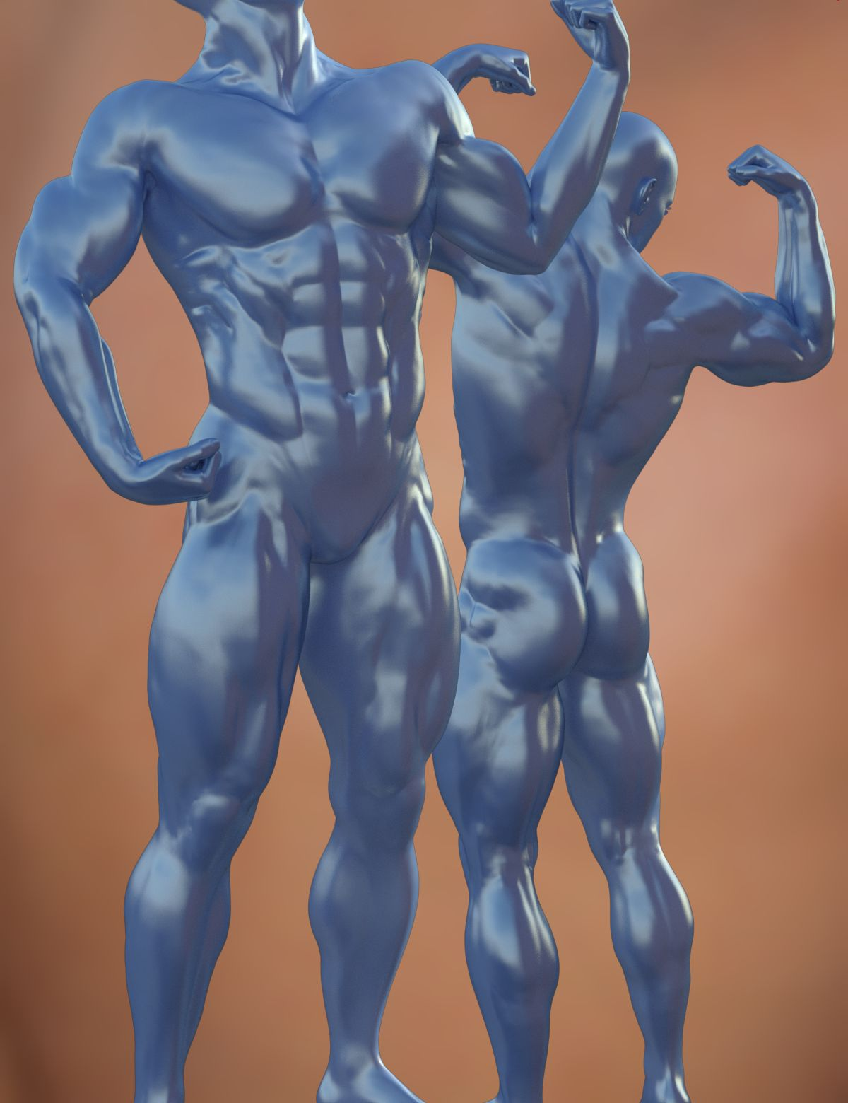 Musculature HD Morphs for Genesis 3 Male(s) by: xenic101, 3D Models by Daz 3D