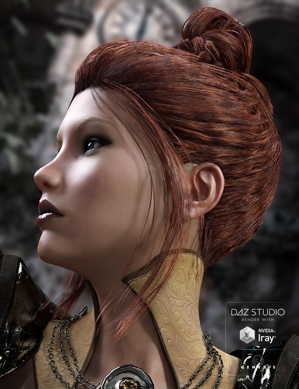 BlueBell Hair for Genesis 3 Female(s) by: goldtassel, 3D Models by Daz 3D