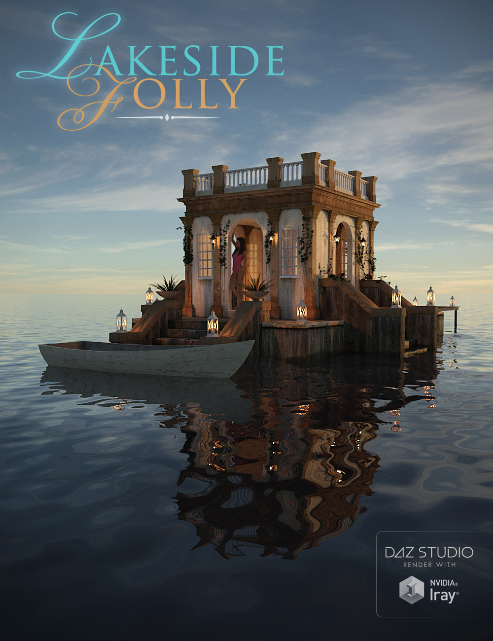Lakeside Folly by: bitwelder, 3D Models by Daz 3D