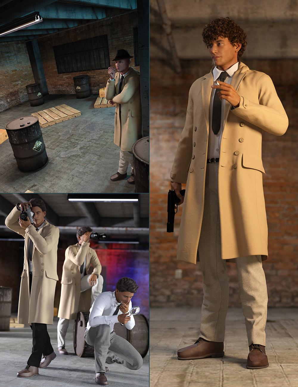 Detective Bundle by: , 3D Models by Daz 3D