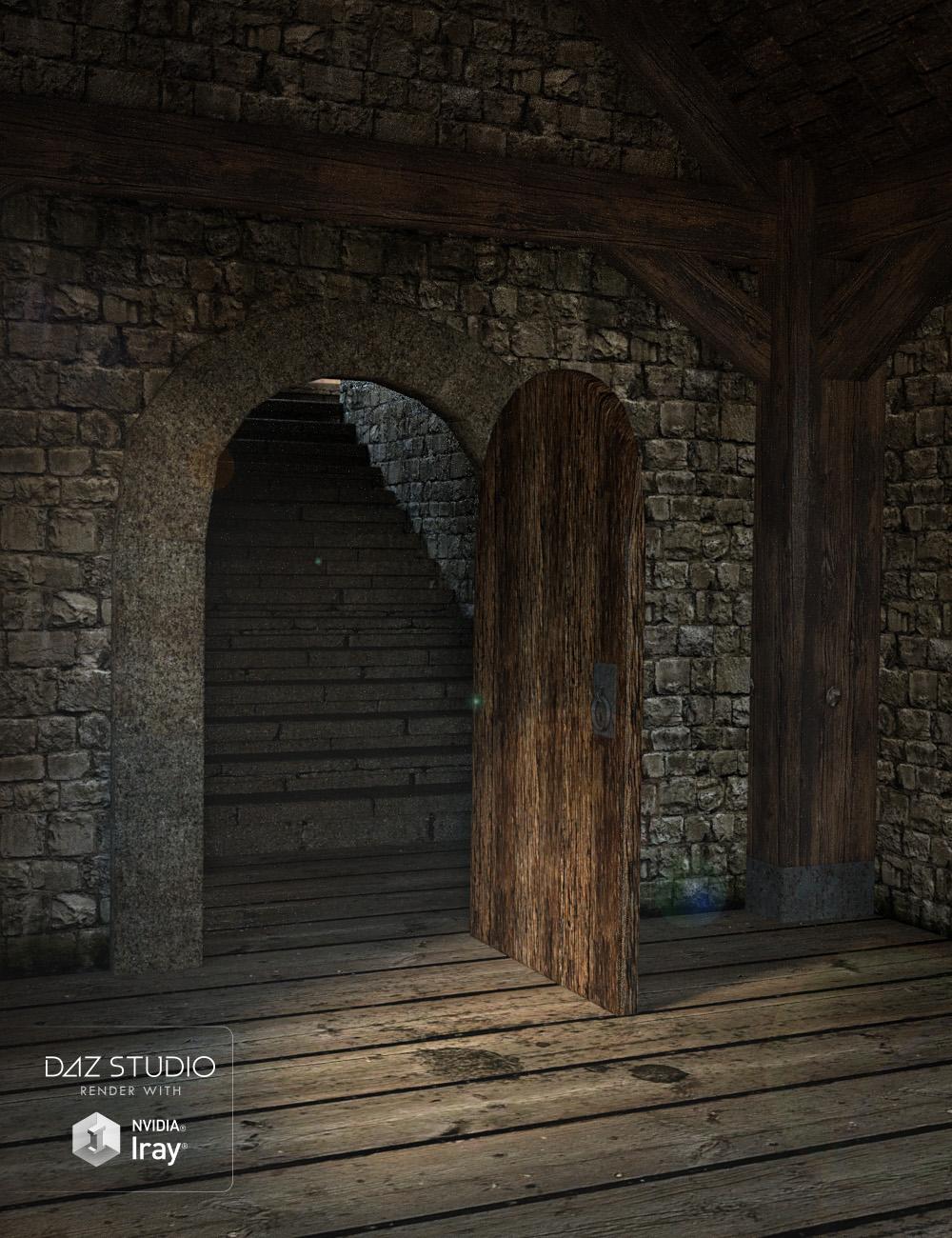 Fantasy Tower Hallway by: , 3D Models by Daz 3D