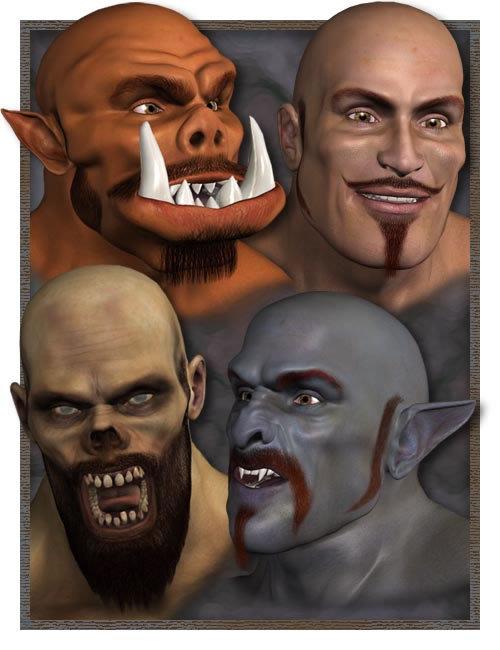 Freak Millennium Beard by: , 3D Models by Daz 3D
