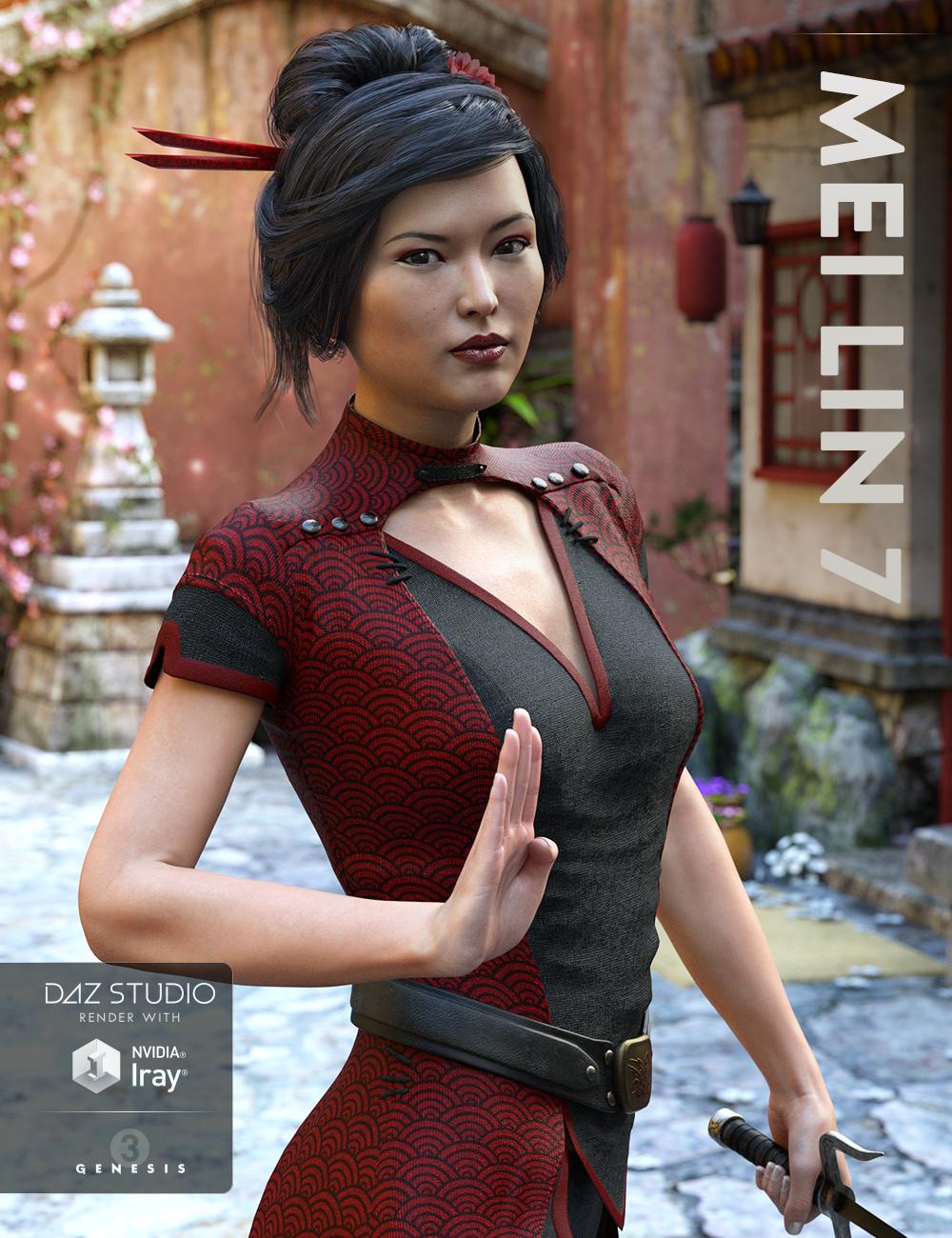 Mei Lin 7 by: , 3D Models by Daz 3D