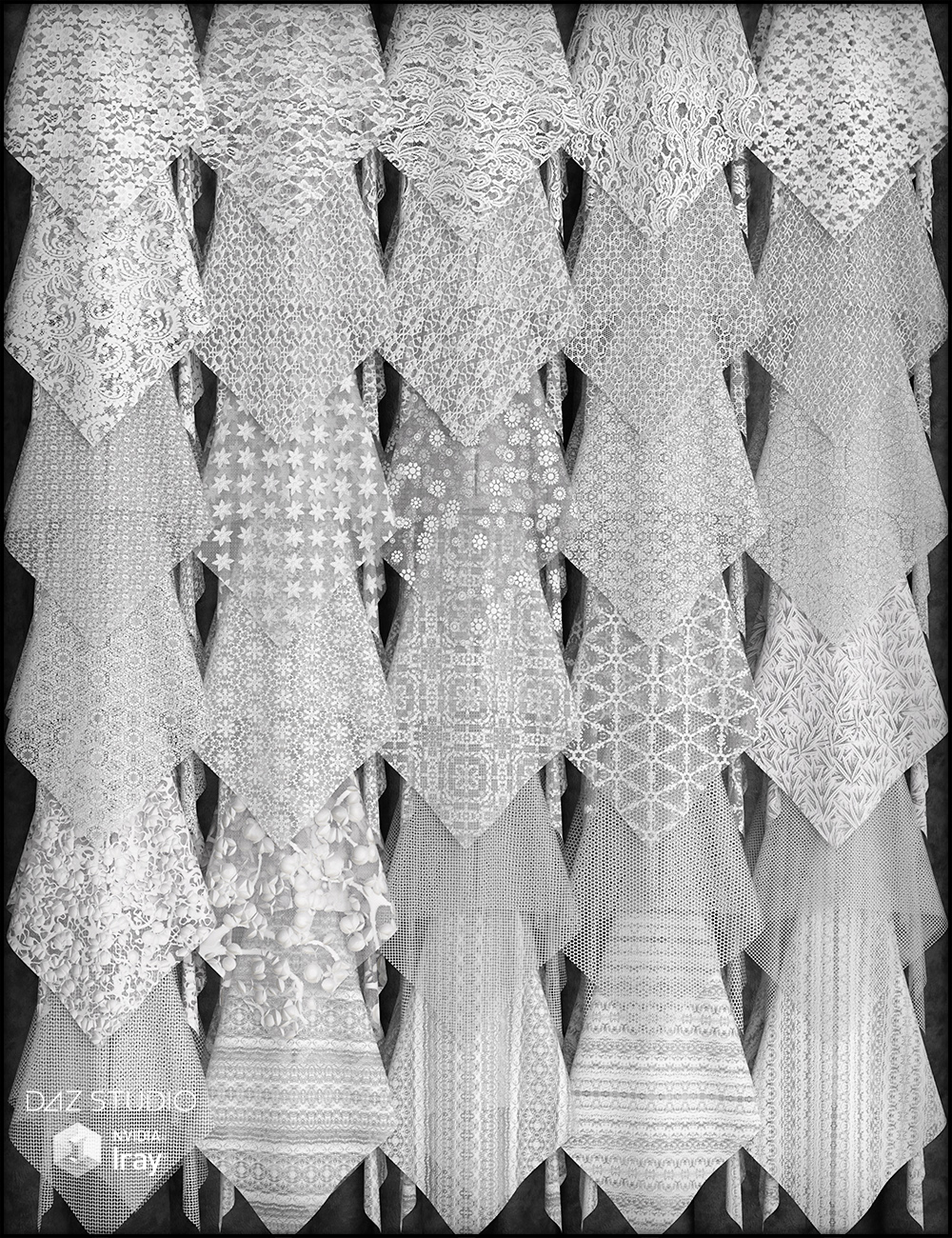 Fabric Basics Lace for Iray by: Fisty & Darc, 3D Models by Daz 3D