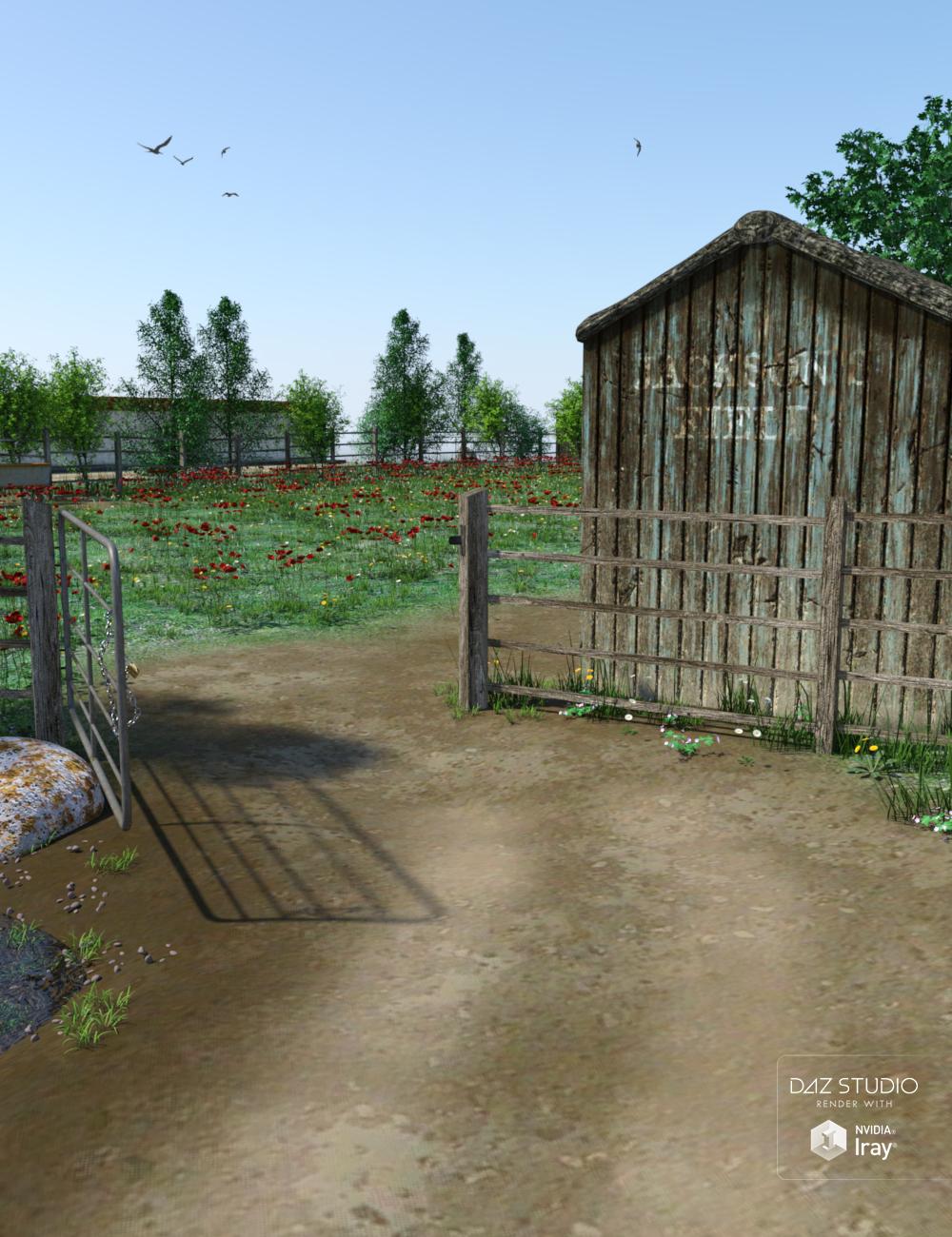 Jackson's Field by: TangoAlpha, 3D Models by Daz 3D