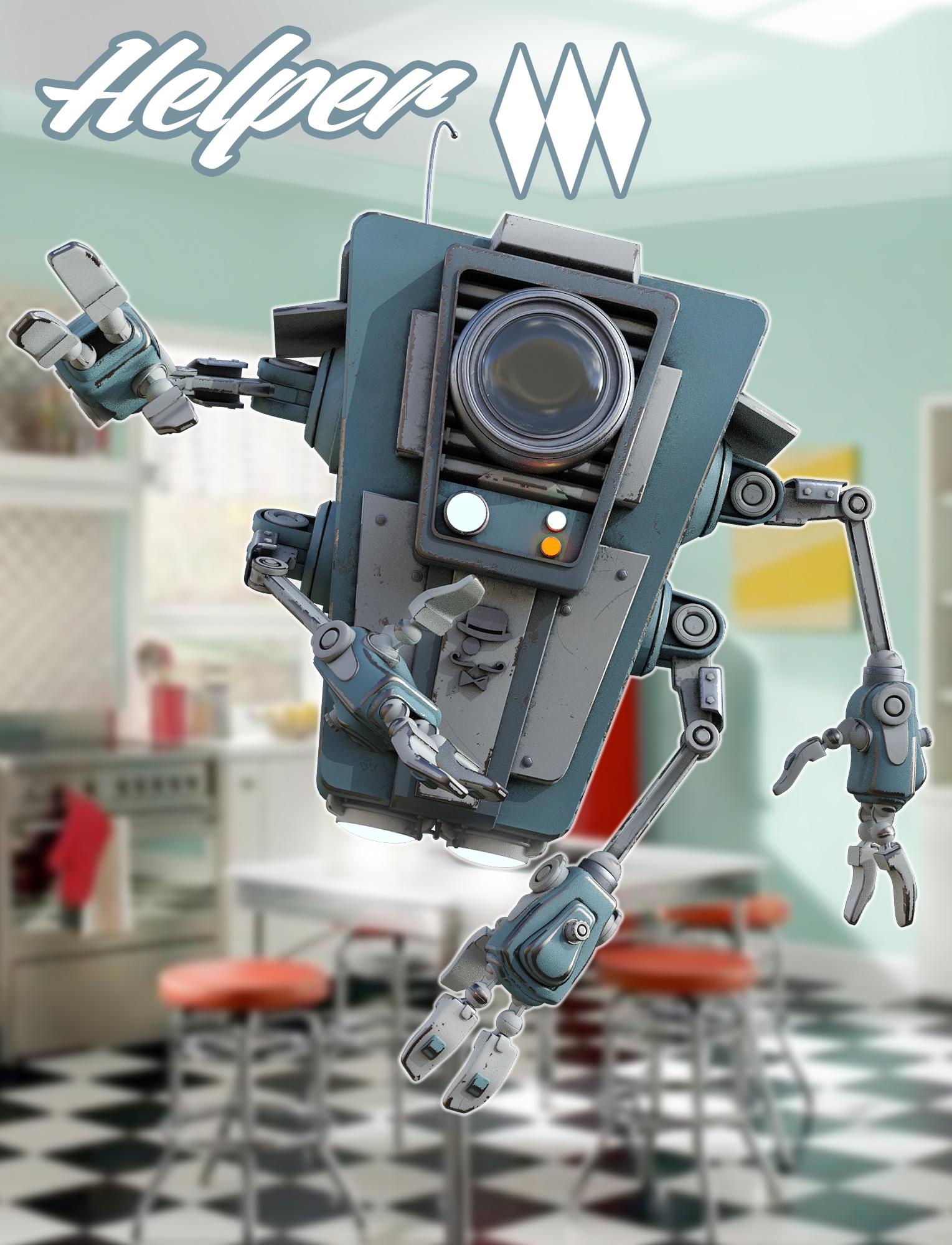 Helper by: The AntFarm, 3D Models by Daz 3D