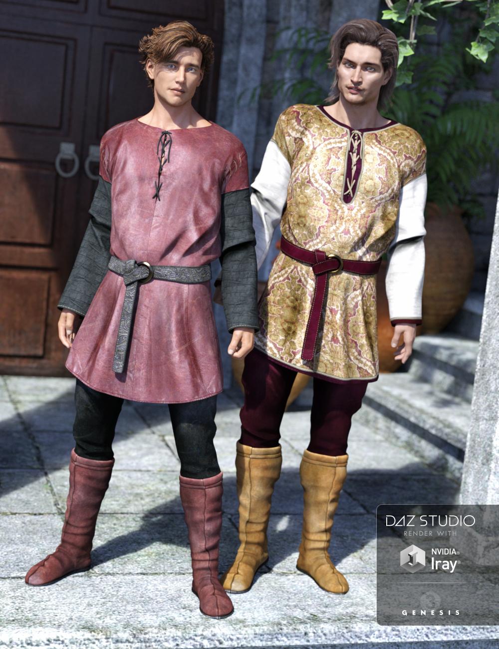 Renaissance Peasant by: Sarsa, 3D Models by Daz 3D