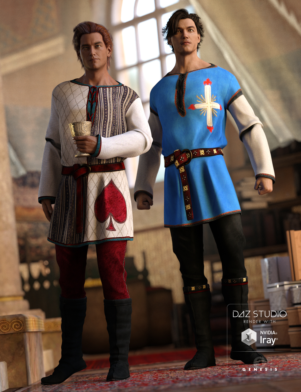 Court Musings by: Sarsa, 3D Models by Daz 3D
