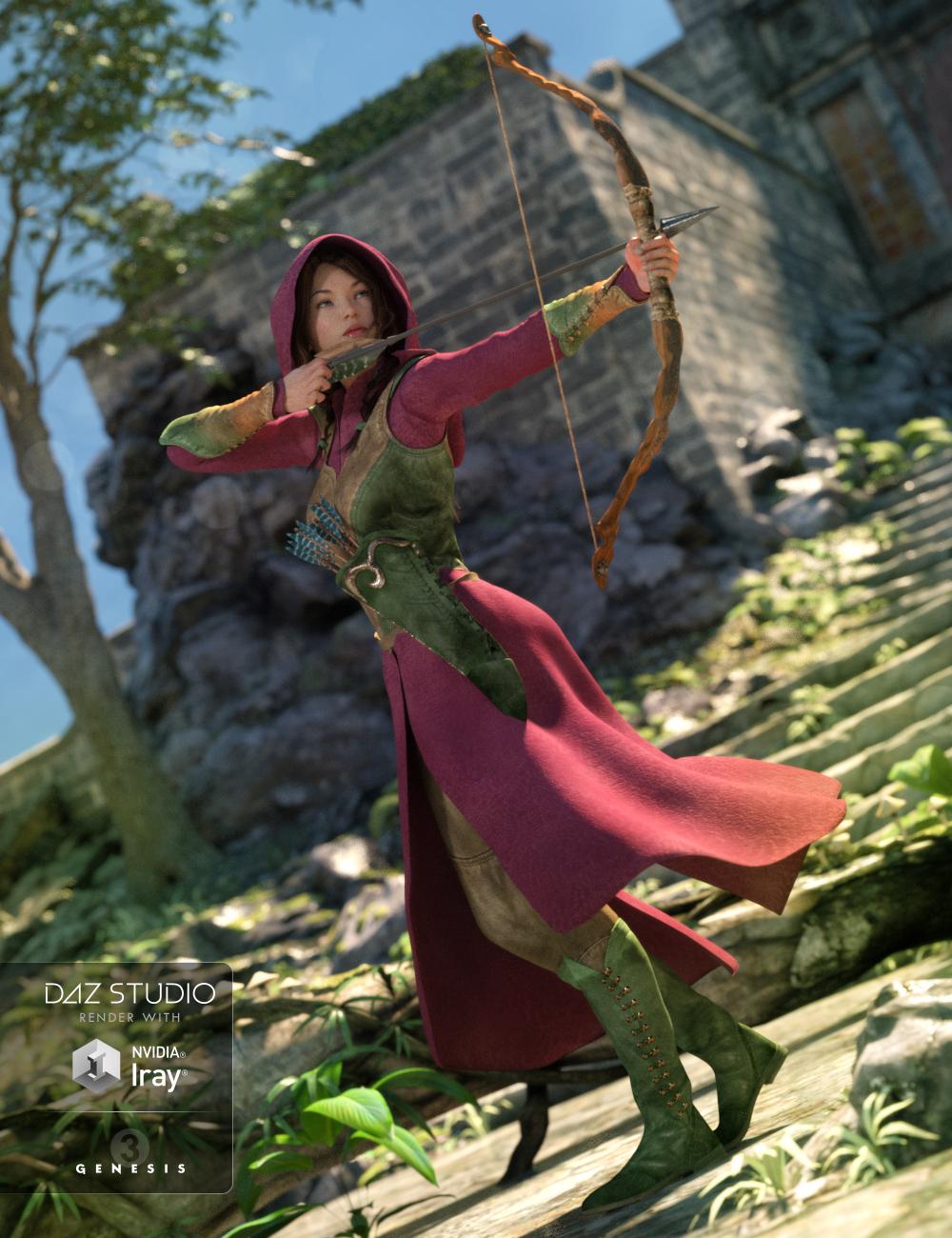 Elven for Genesis 3 Female(s) by: DarkStarBurningRavenhair, 3D Models by Daz 3D