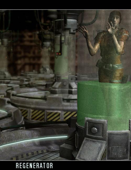 Regenerator by: , 3D Models by Daz 3D