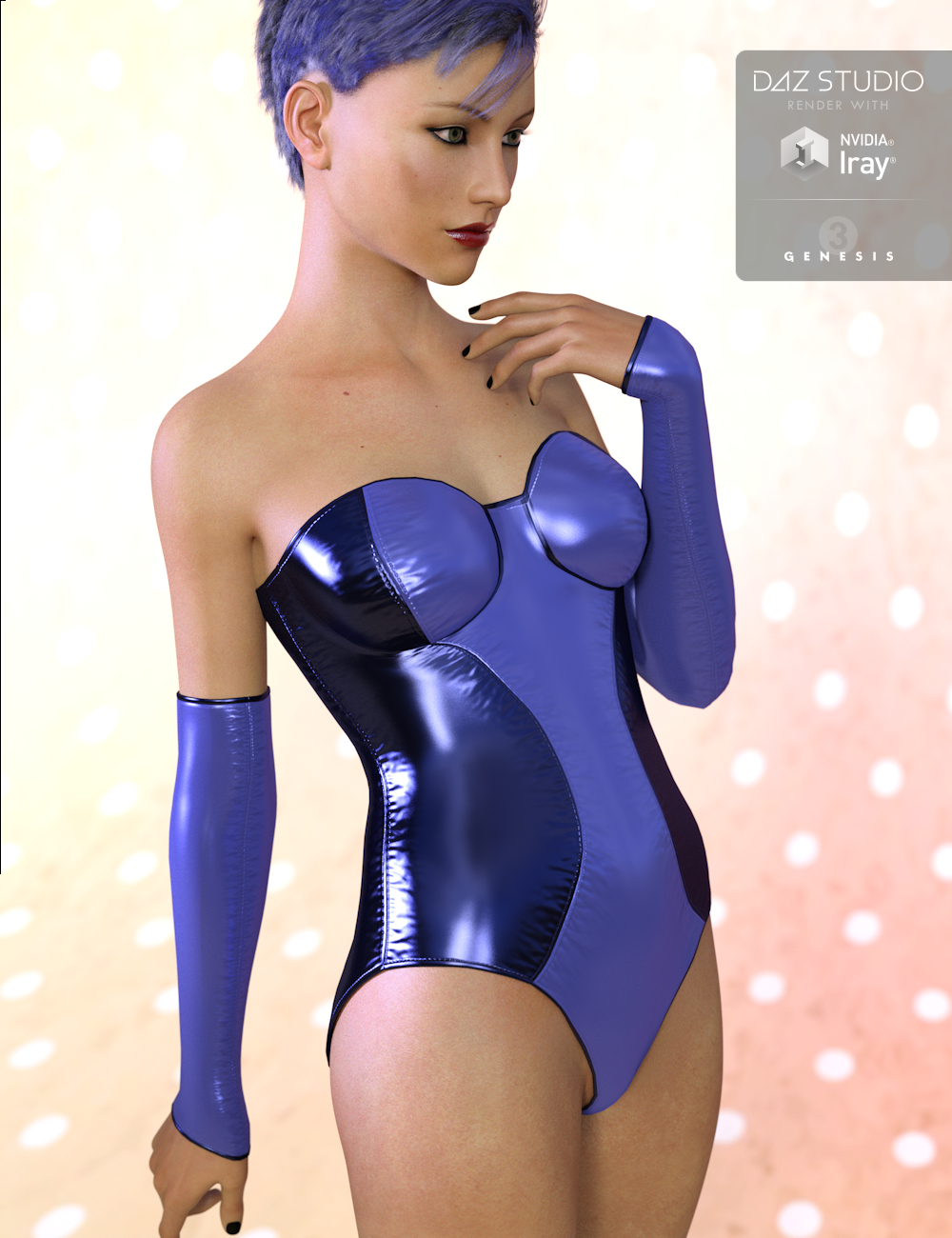 Wicked Viper Outfit for Genesis 3 Female(s) by: Xena, 3D Models by Daz 3D