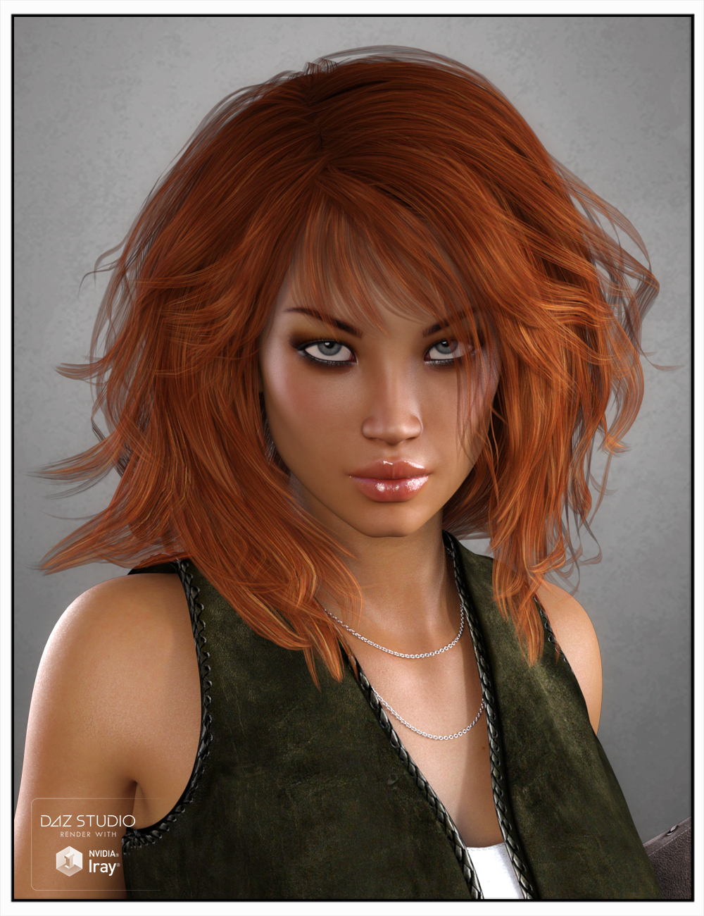 Betty Hair for Genesis 3 Female(s), Genesis 2 Female(s) and Victoria 4 by: SWAM, 3D Models by Daz 3D