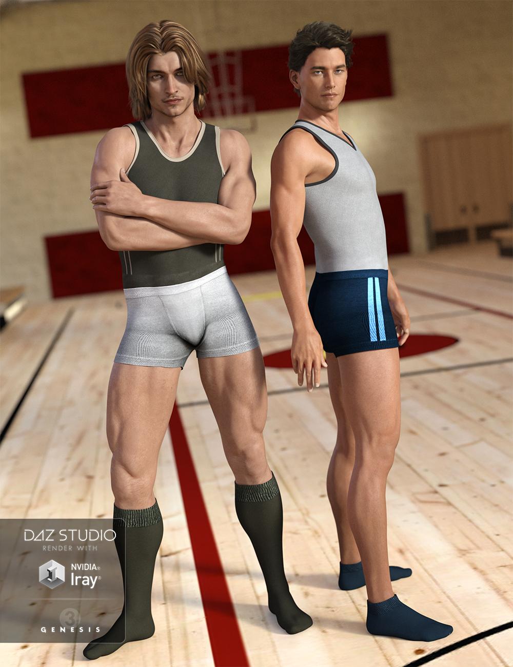 Super Bodysuit Casual Style Textures by: Shox-Design, 3D Models by Daz 3D
