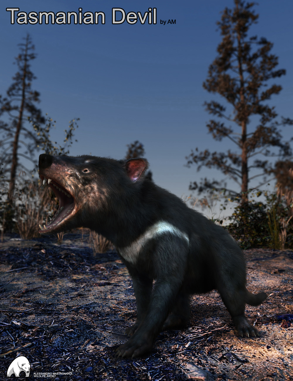 Tasmanian Devil by AM by: Alessandro_AM, 3D Models by Daz 3D
