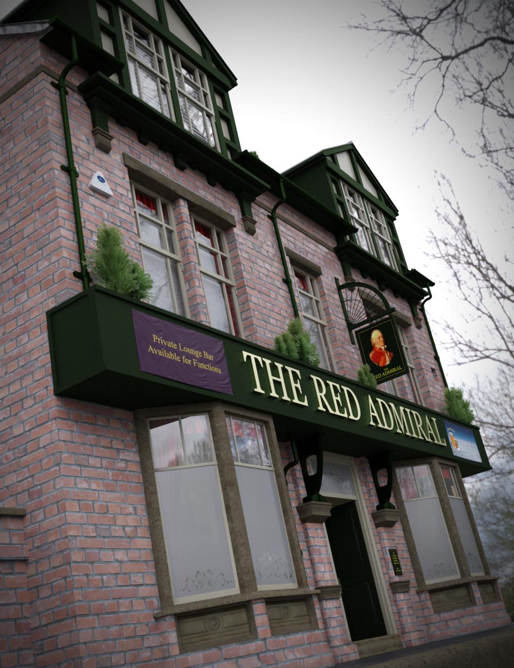 Gastro Pub & Beer Garden by: KindredArts, 3D Models by Daz 3D