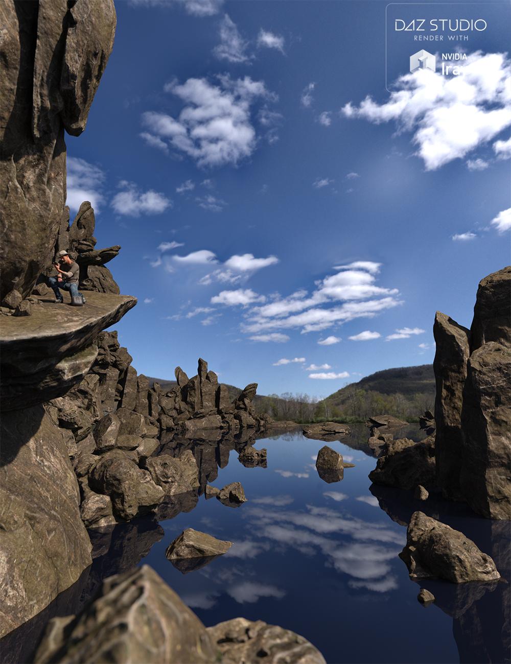 Rock My World - Iray Boulders by: Dumor3D, 3D Models by Daz 3D