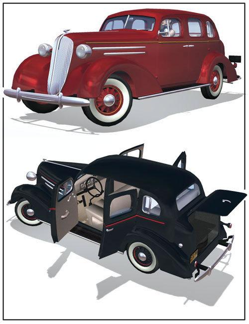 1936 AM Sedan by: , 3D Models by Daz 3D